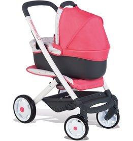 Smoby BB-Confort 3-in-1 multifunctionele Poppenwagen - roze