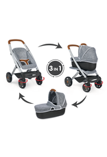Smoby Smoby - BB-Confort 3-in-1 Multifunktions-Puppenwagen - grau