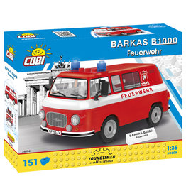 COBI COBI 24594 - Barkas B1000 Fire brigade
