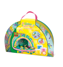 SES Creative Glitter horse world (play suitcase)