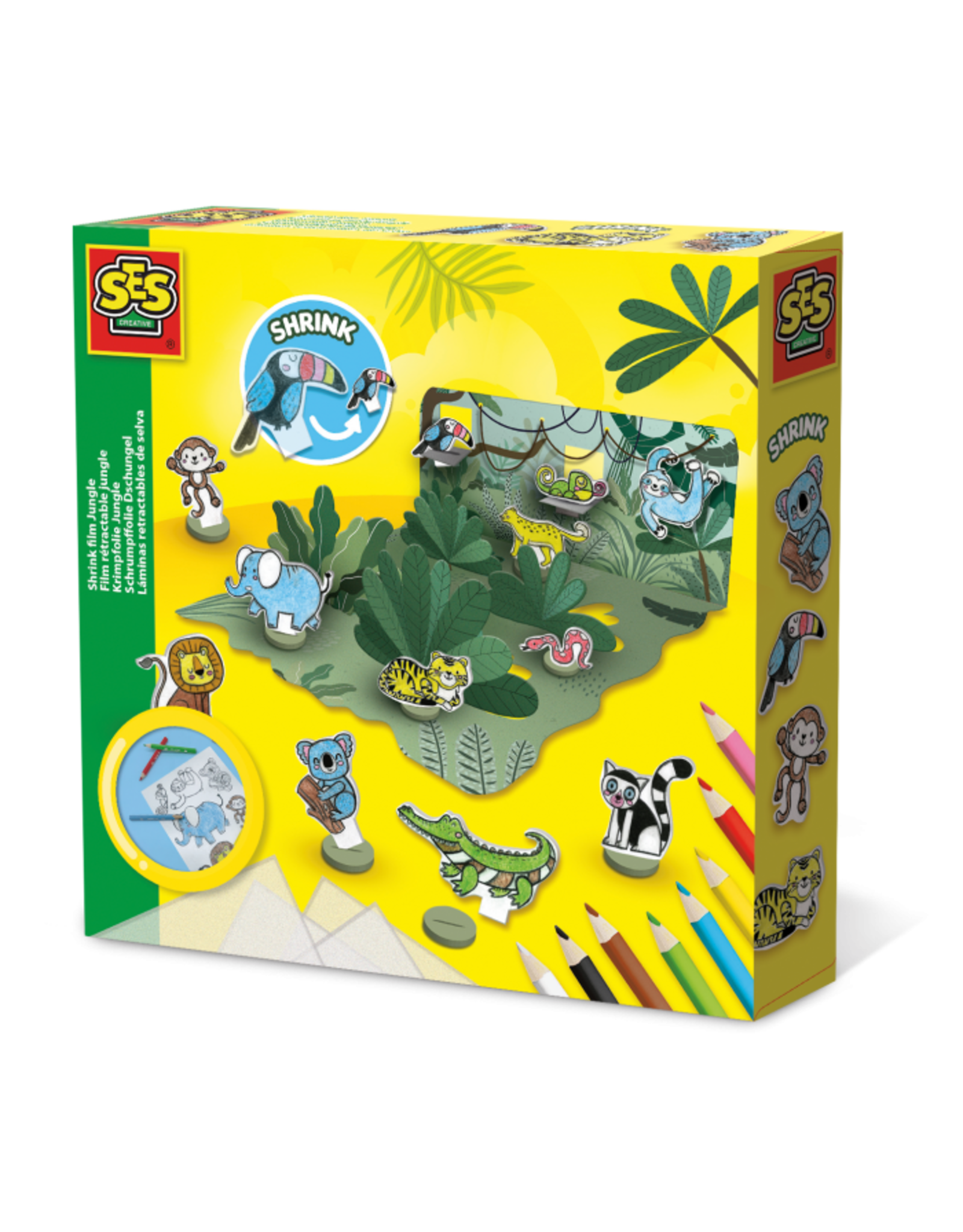 SES Creative Krimpfolie Jungle