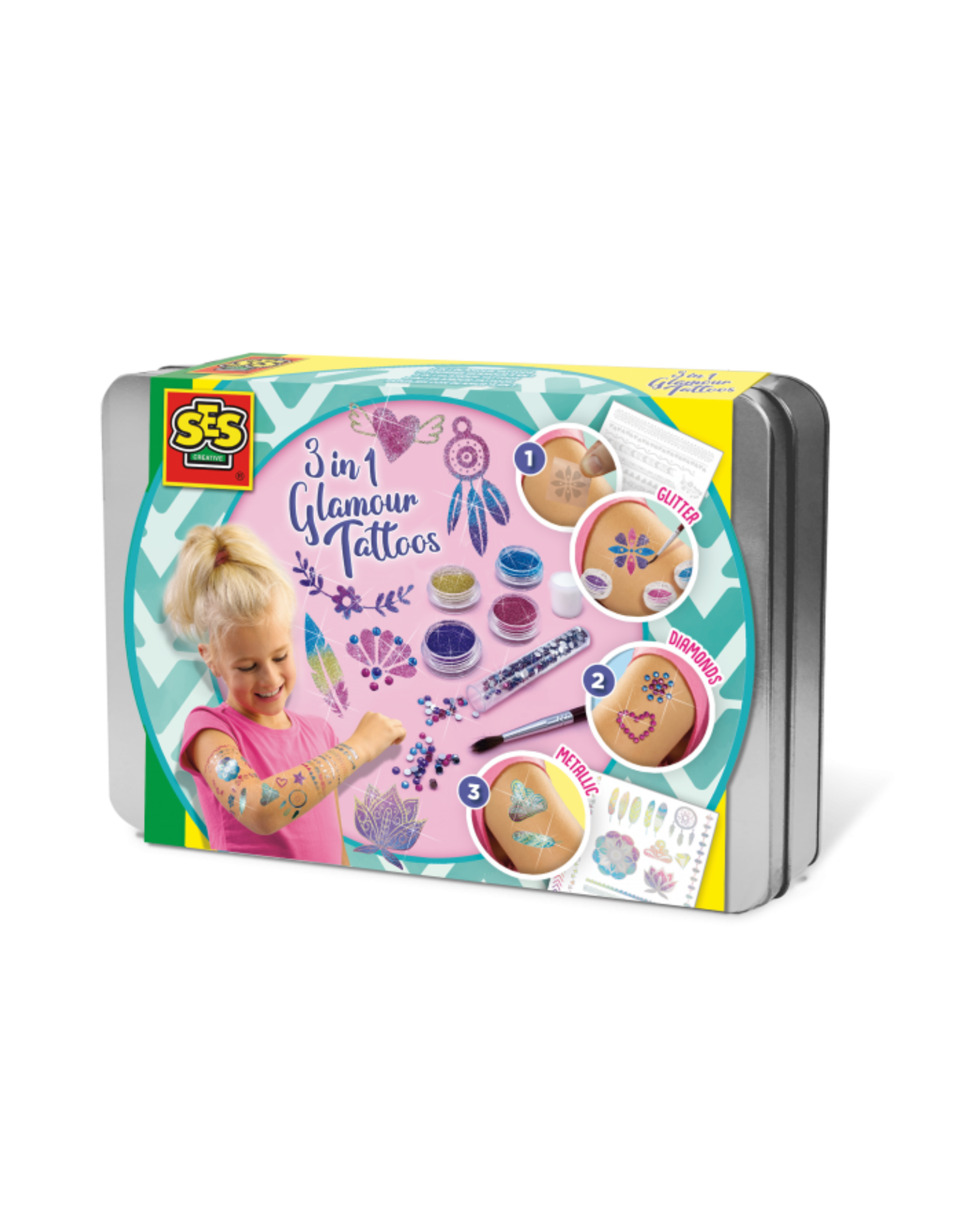 SES Creative 3 in 1 Glamour tattoos
