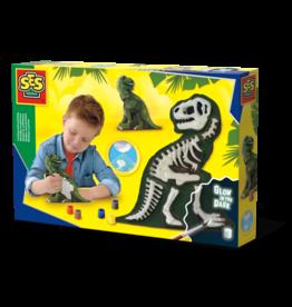 SES Creative Gieten en schilderen - T-Rex met skelet