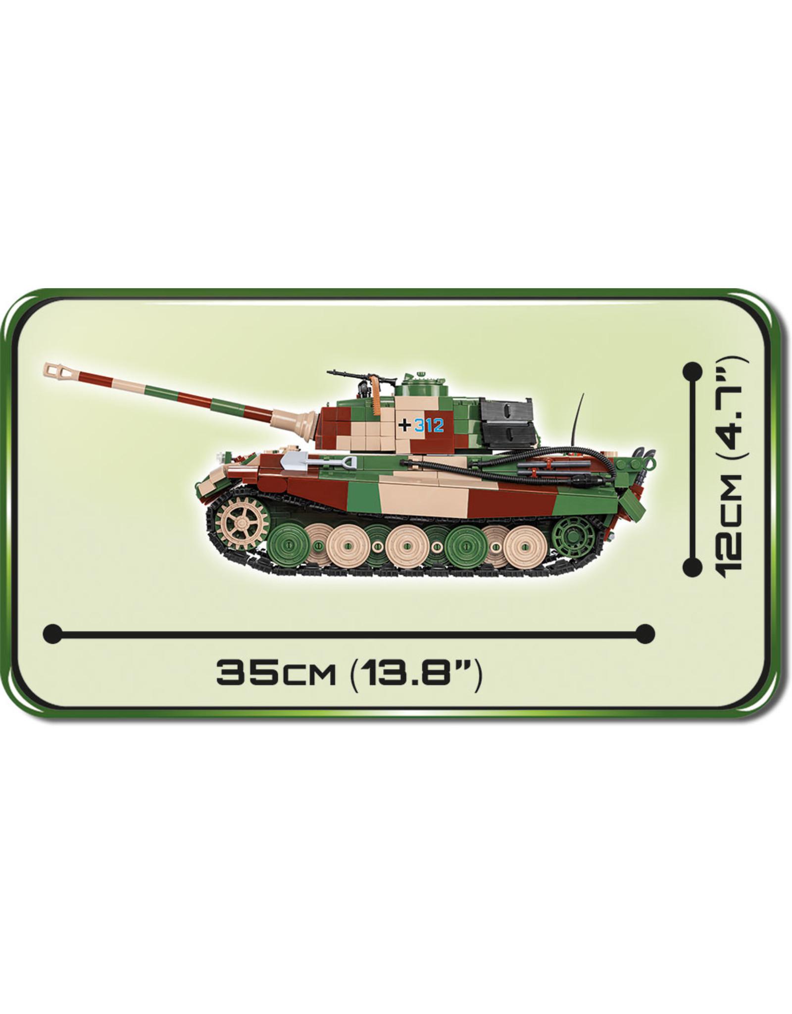 COBI Cobi WW2 2540 - Königstiger PzKpfW VI