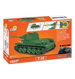 COBI COBI World of Tanks  T-34 3061