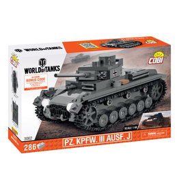 COBI COBI World of Tanks  PZ.KPFW.III 3062