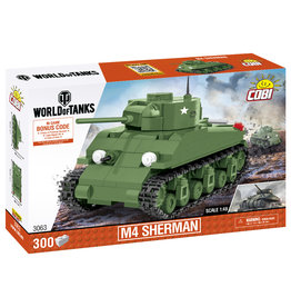 COBI COBI World of Tanks  M4 Sherman 3063
