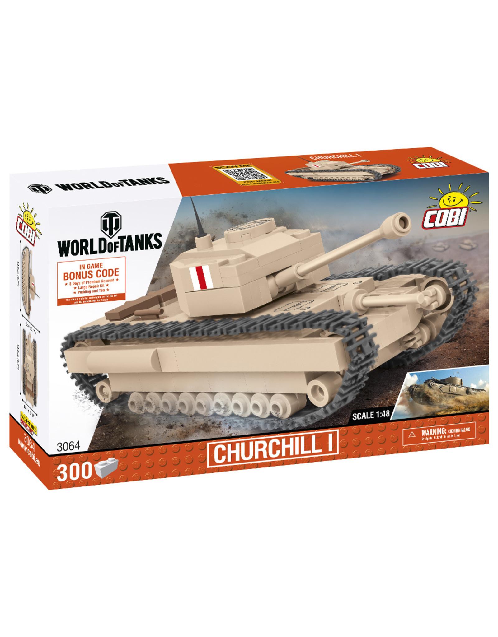 COBI COBI World of Tanks  Churchill I 3064