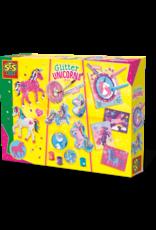 SES Creative Glitter unicorns 3 in 1