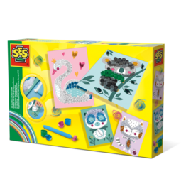 SES Creative 3D Quilling sticker cards