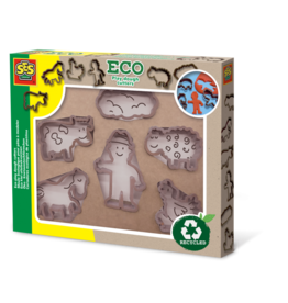 SES Creative Eco play dough cutters