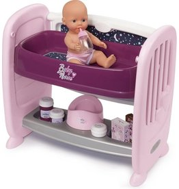 Smoby Smoby Baby Nurse 2 in 1 Doll Bed 220353