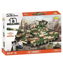 COBI COBI World of Tanks 3040 IS-7 Granite