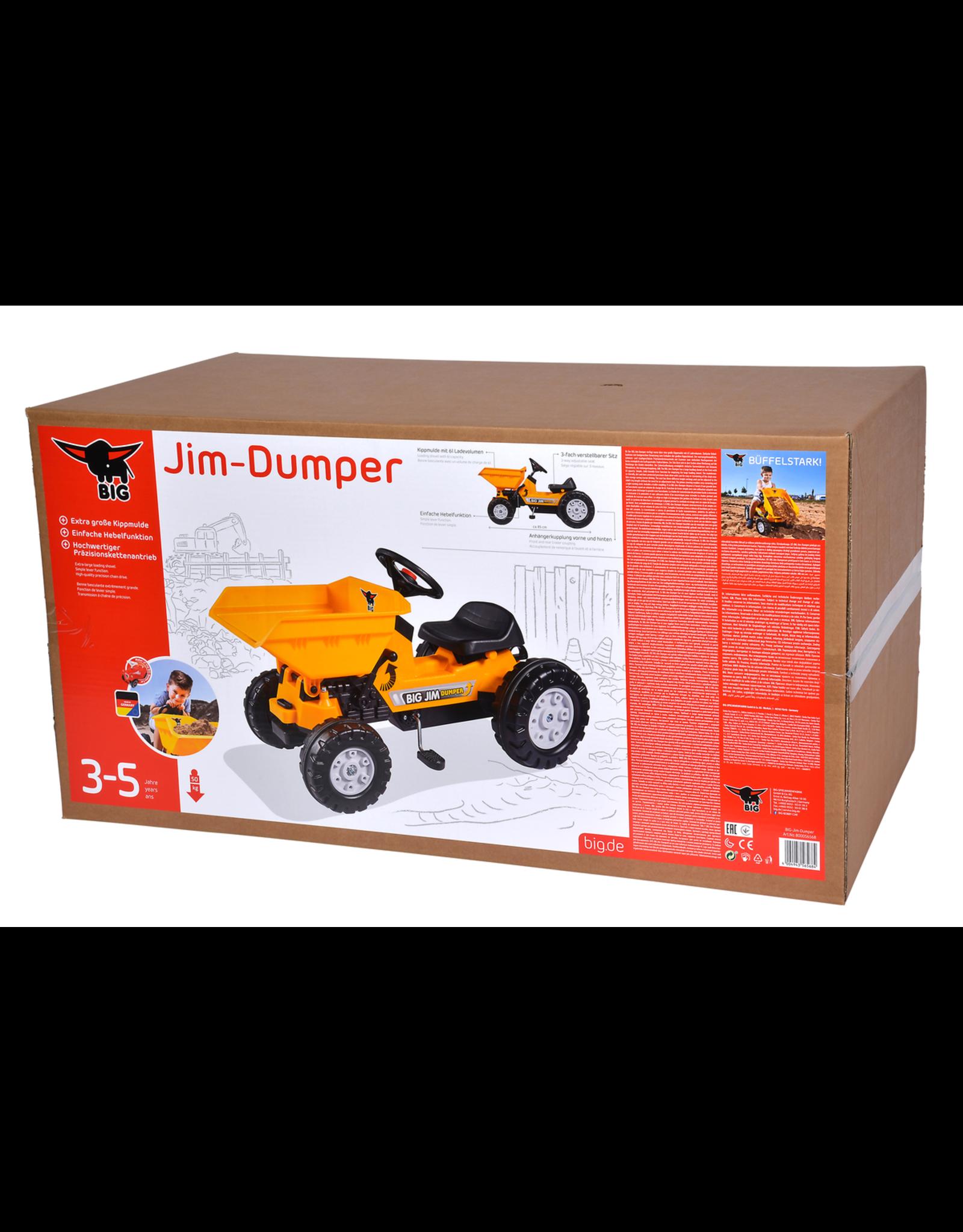 BIG BIG Jim Dumper - traptractor