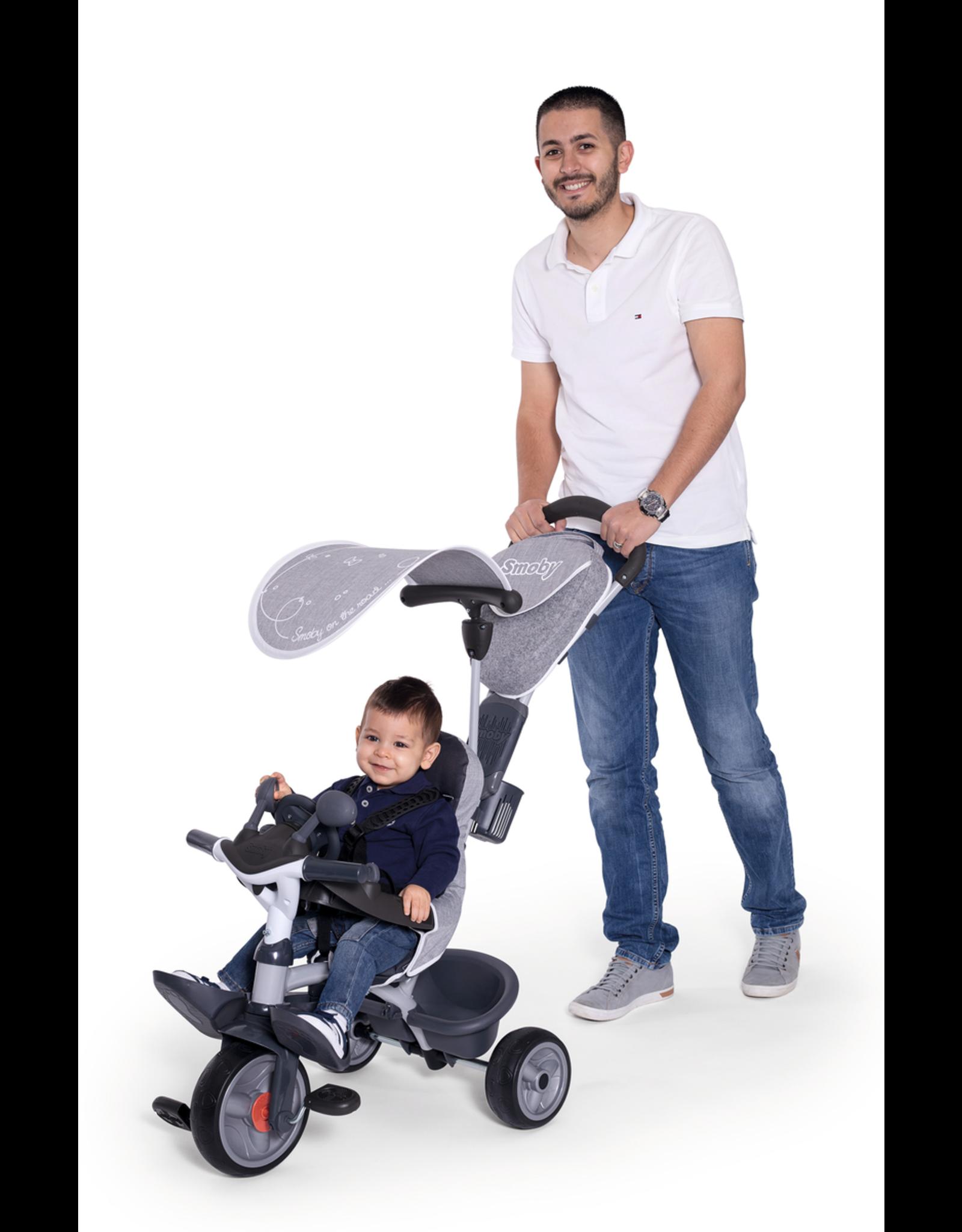 Smoby Smoby Baby Driver Komfort Grau