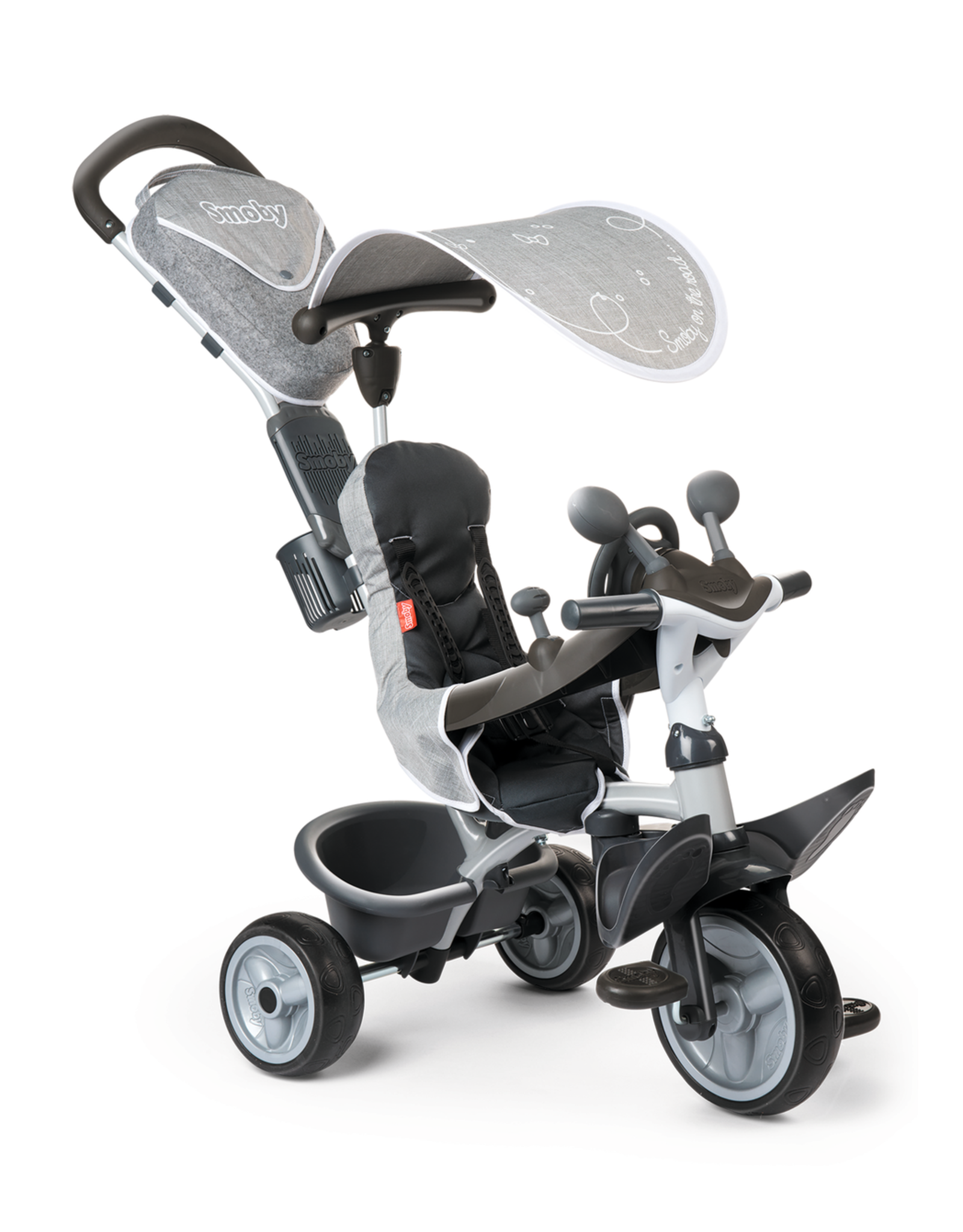 Smoby Smoby Baby Driver Comfort Grijs