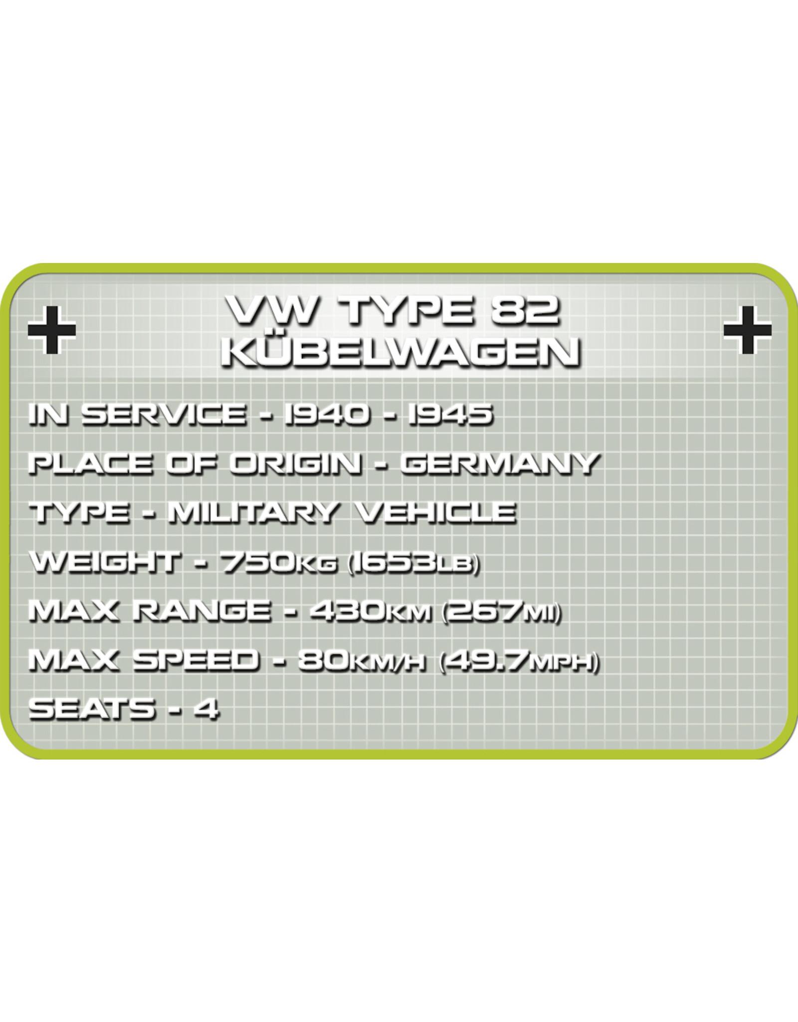 COBI COBI  2402 - VW Kubelwagen Type 82