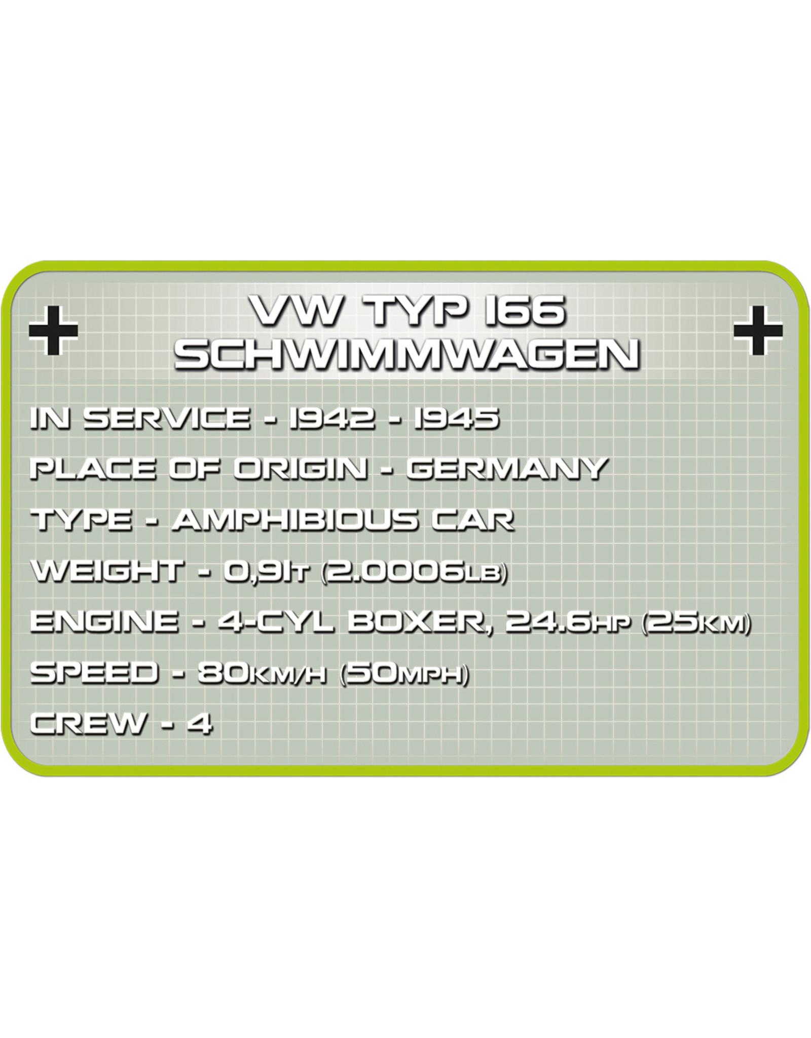 COBI COBI  2403 VW Typ 166 Schwimmwagen