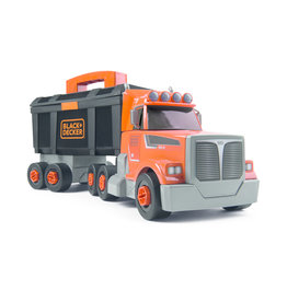 Smoby Smoby 360175 - Black + Decker Vrachtwagen gereedschapskist