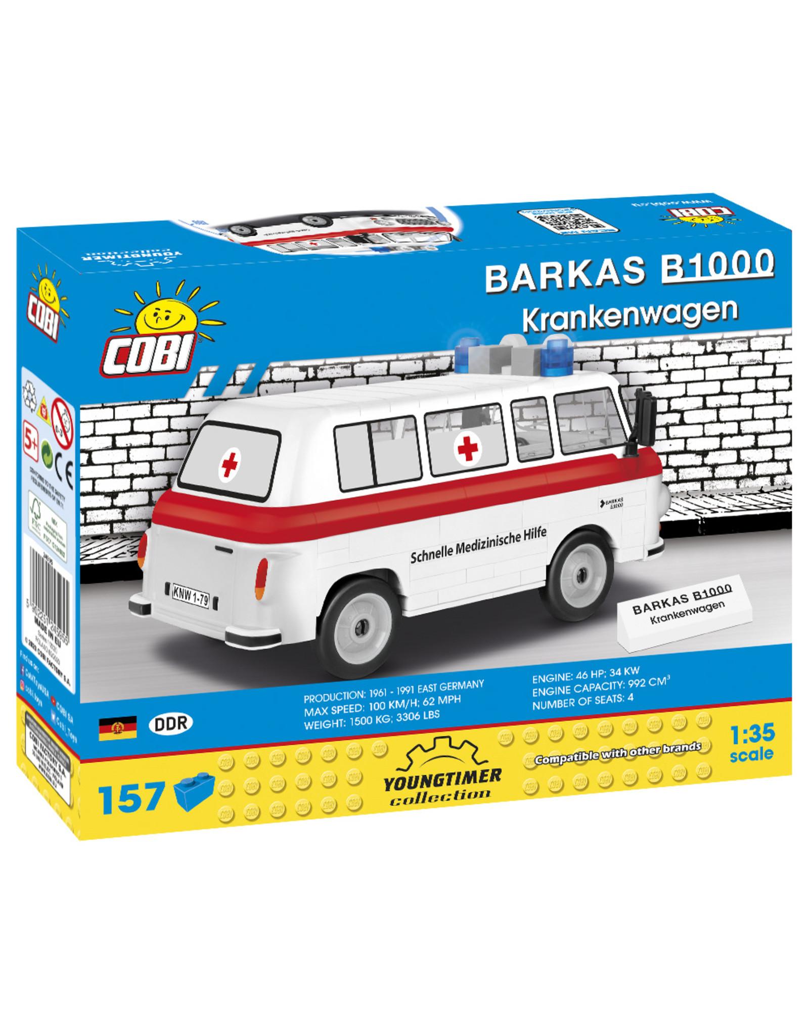 COBI COBI 24595 - Barkas B1000 Krankenwagen