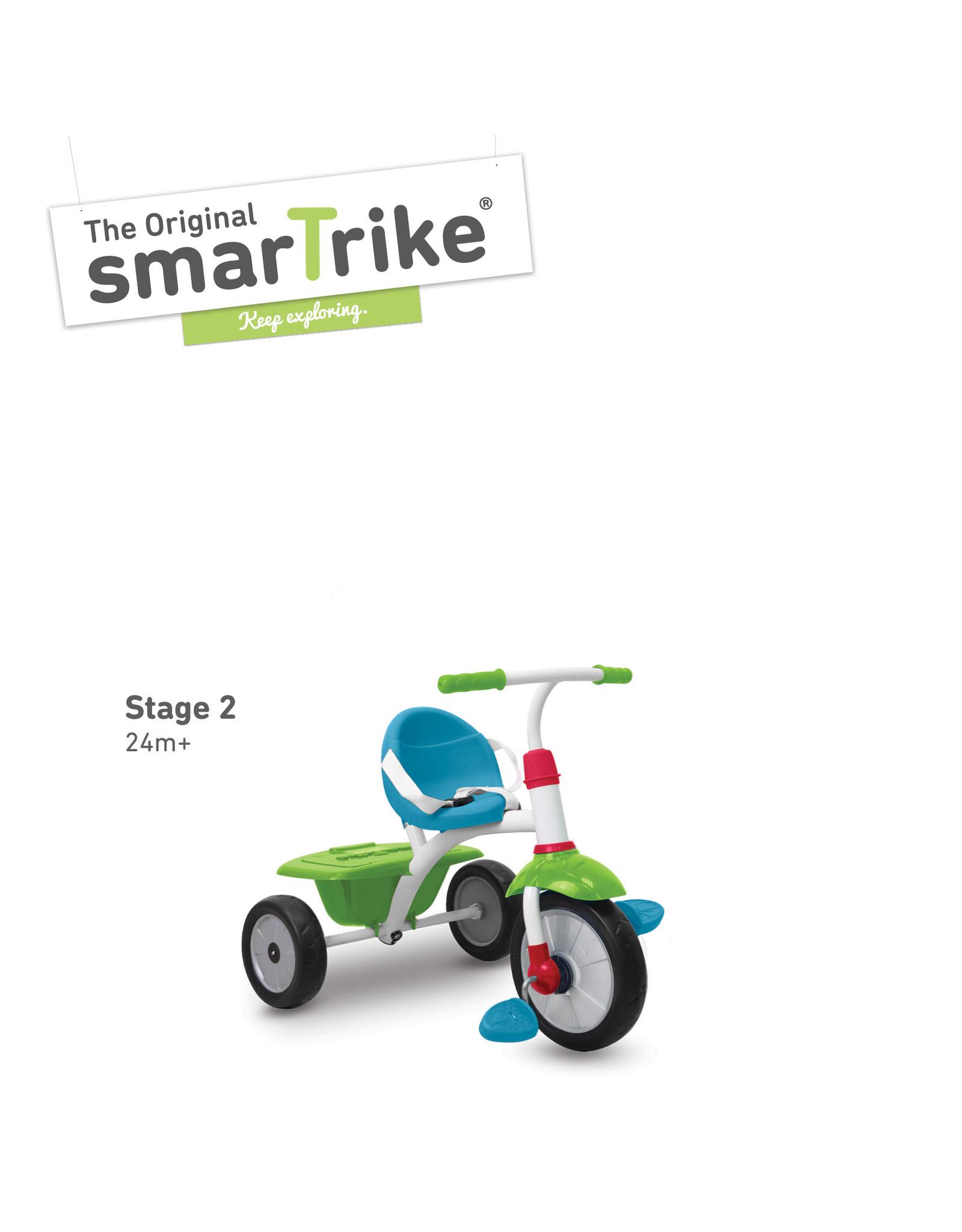 SmarTrike SmarTrike Fun Plus blauw-groen
