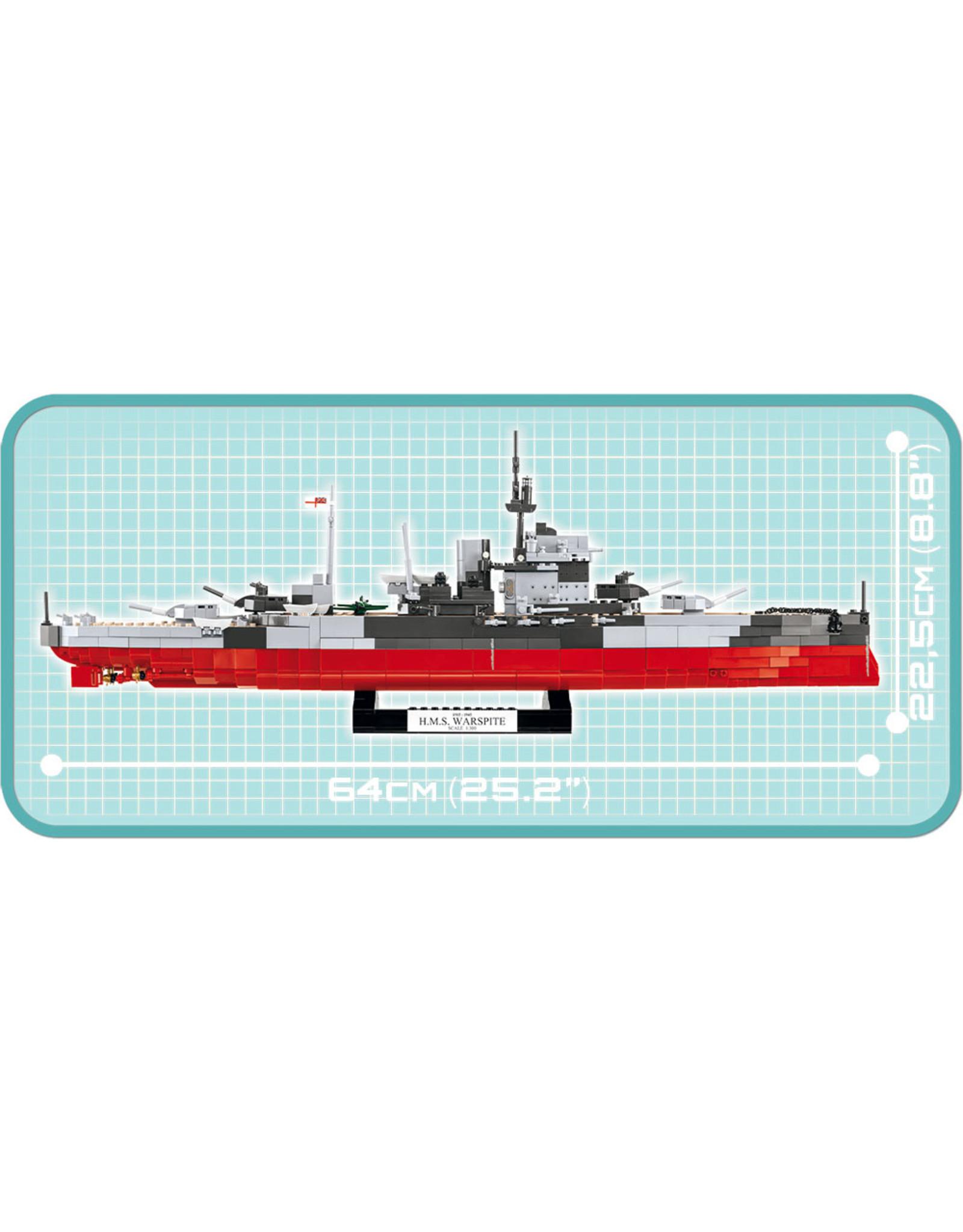 COBI COBI WWII  4820 HMS Warspite