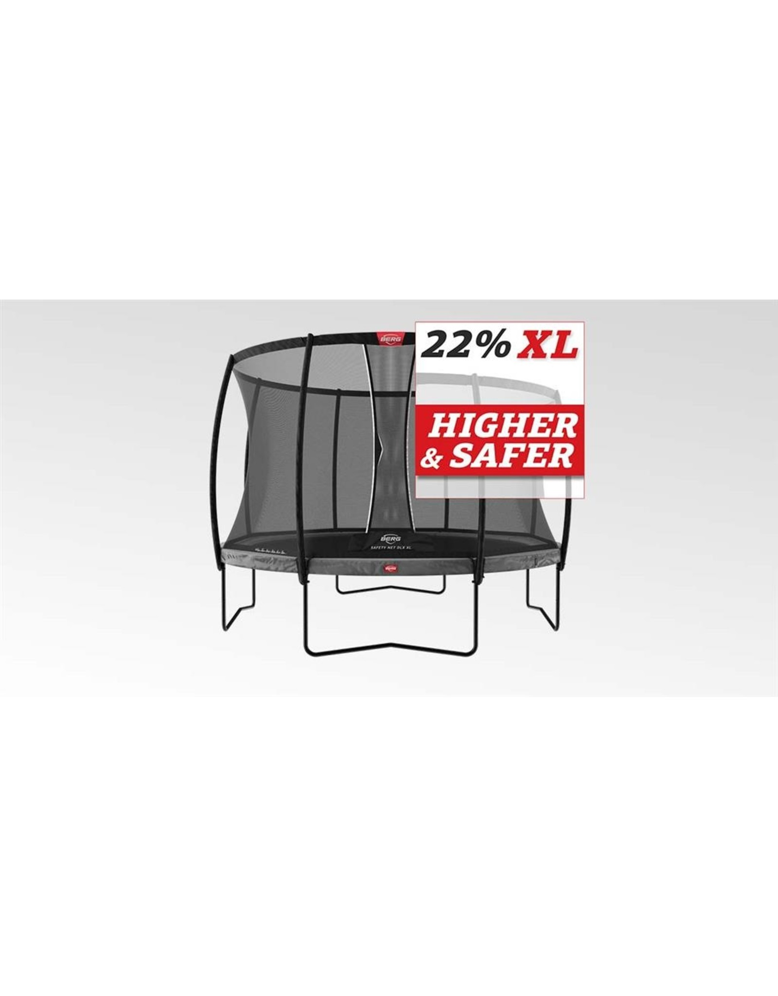 BERG BERG Champion Regular 430 grijs + Safety Net DLX XL