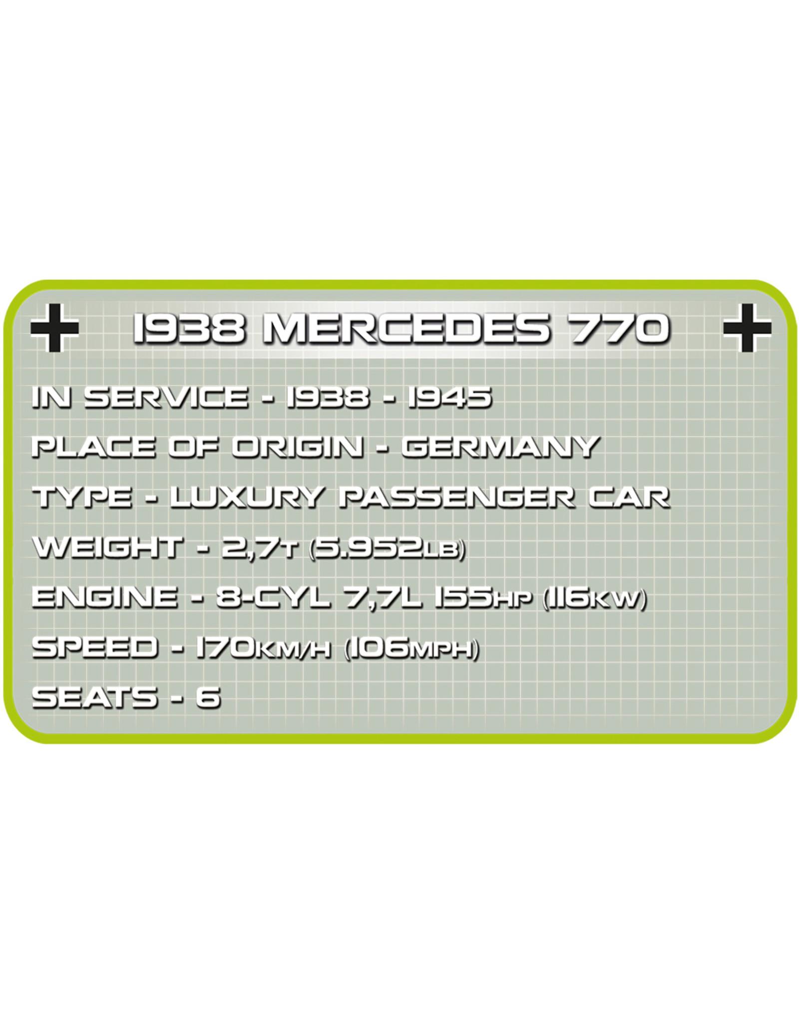 COBI COBI  2407 1938 Mercedes 770