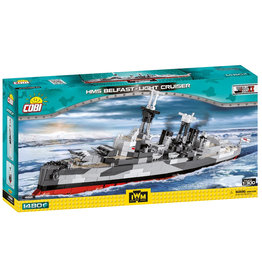 COBI COBI WWII  4821 HMS Belfast Light cruiser