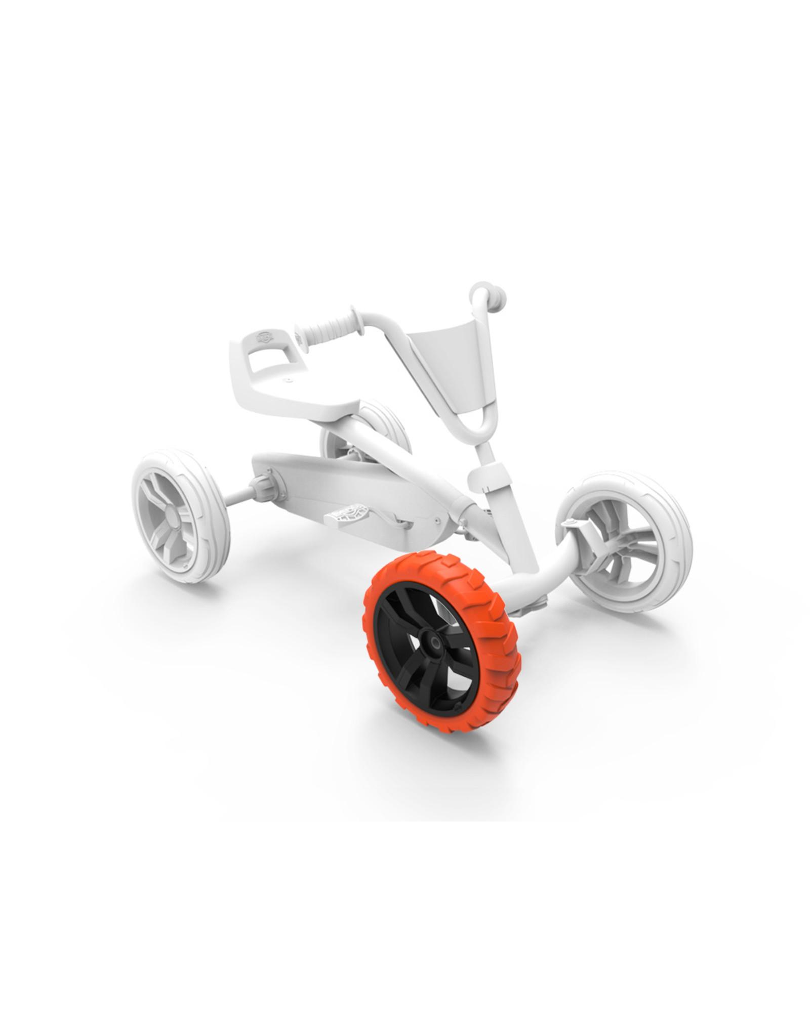 BERG BERG Buzzy - Rad schwarz-orange 9x2 vorne rechts