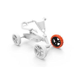 BERG Buzzy - Wheel black-orange 9x2 front left