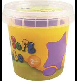 Feuchtmann  Kinder-Soft-Knete - weiche lufttrocknende Knetmasse - lila 150 Gramm