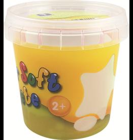 Feuchtmann  Kinder-Soft-Knete - weiche lufttrocknende Knetmasse - Weiß 150 Gramm