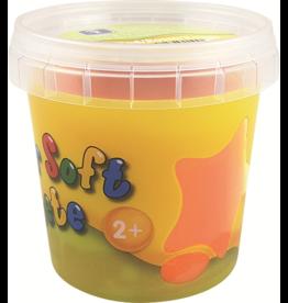 Feuchtmann  Kinder-Soft-Knete - weiche lufttrocknende Knetmasse - orange 150 Gramm