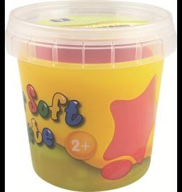 Feuchtmann  Kinder-Soft-Knete - zachte luchtdrogende boetseerklei - rood 150 gram