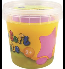 Feuchtmann  Kinder-Soft-Knete - weiche lufttrocknende Knetmasse - rosa 150 Gramm