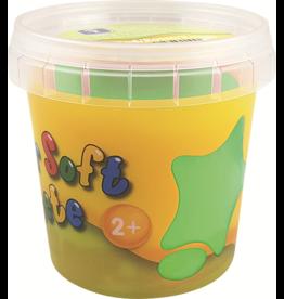 Feuchtmann  Kinder-Soft-Knete - weiche lufttrocknende Knetmasse - hellgrün 150 Gramm