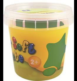 Feuchtmann  Kinder-Soft-Knete - weiche lufttrocknende Knetmasse - dunkelgrün 150 Gramm