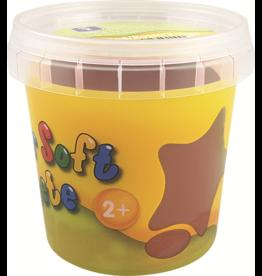 Feuchtmann  Kinder-Soft-Knete - weiche lufttrocknende Knetmasse - braun 150 Gramm
