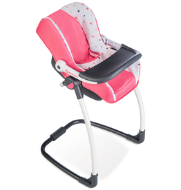 Smoby Quinny Seat + High Chair for dolls