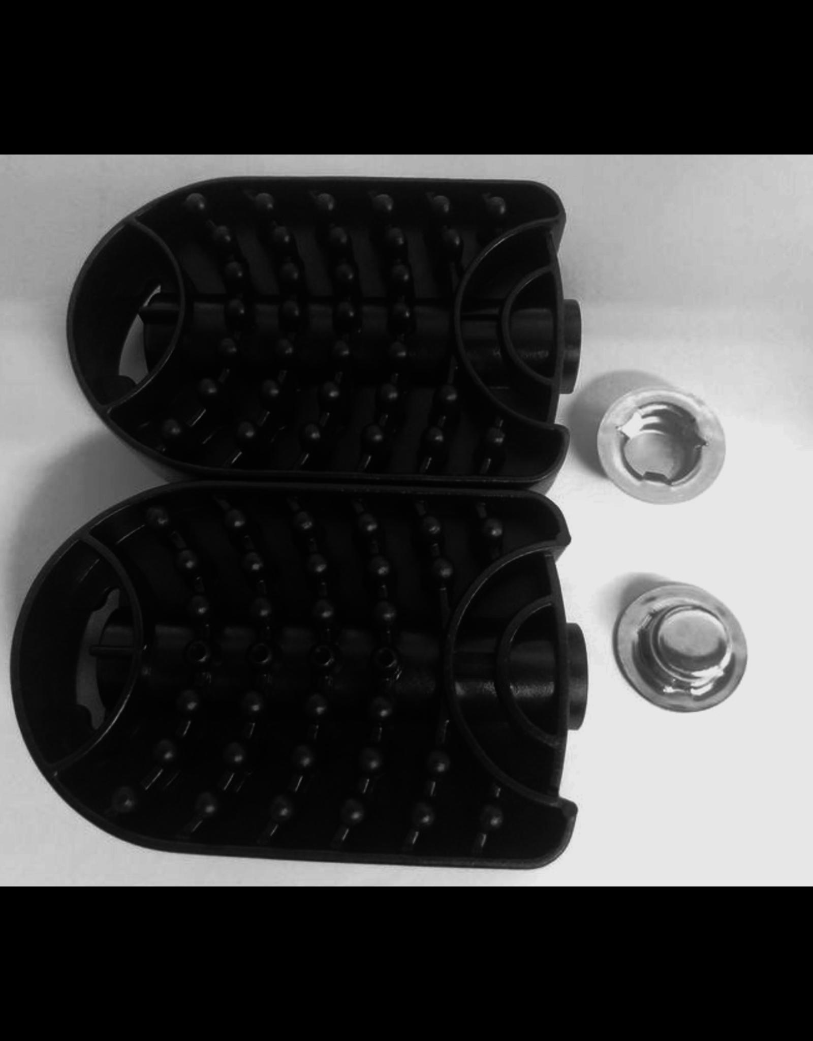 BIG 2 pedalen met 10 mm bevestigingsklemmen voor BIG-tractoren