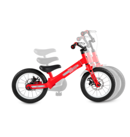 SmarTrike Xtend Mg+ red, Balance to Pedal Bike, 3-in-1