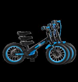 SmarTrike Xtend Mg + zwart, loopfiets naar fiets, 3-in-1