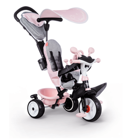 Smoby Baby Driver Plus Roze