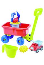 écoiffier Beach cart with sand toys