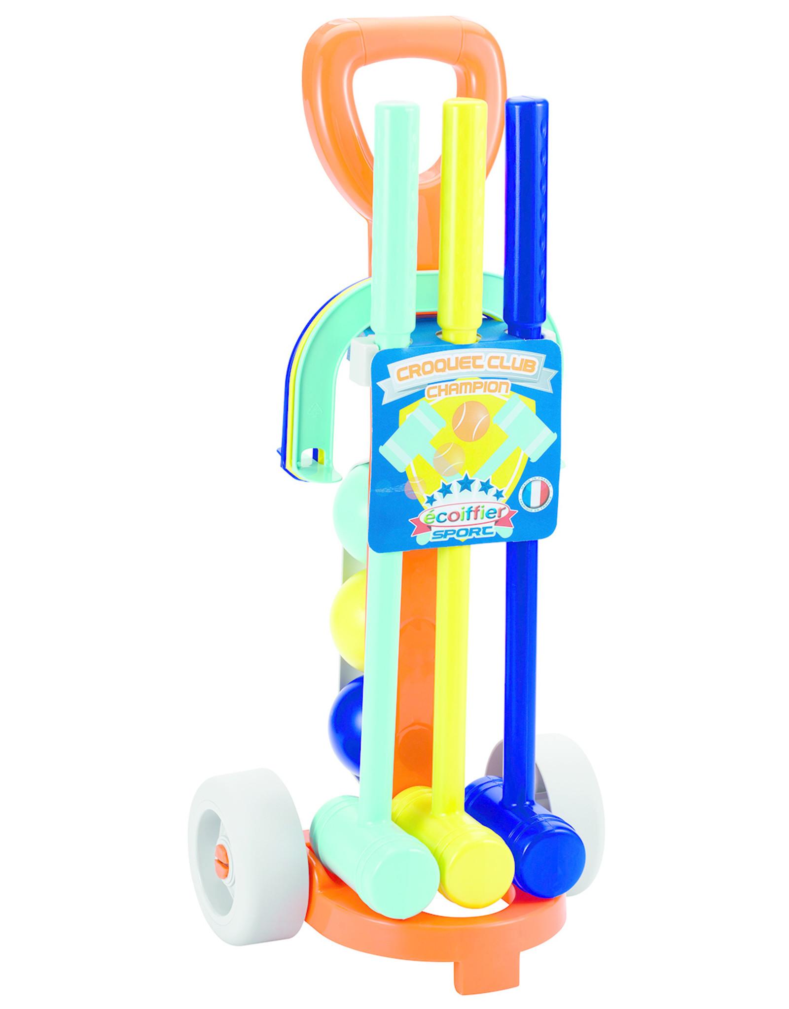 écoiffier Croquetset met Trolley