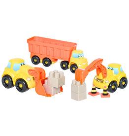 écoiffier Abrick Construction vehicles set