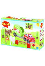 écoiffier Abrick Auto mit Pferdeanhänger