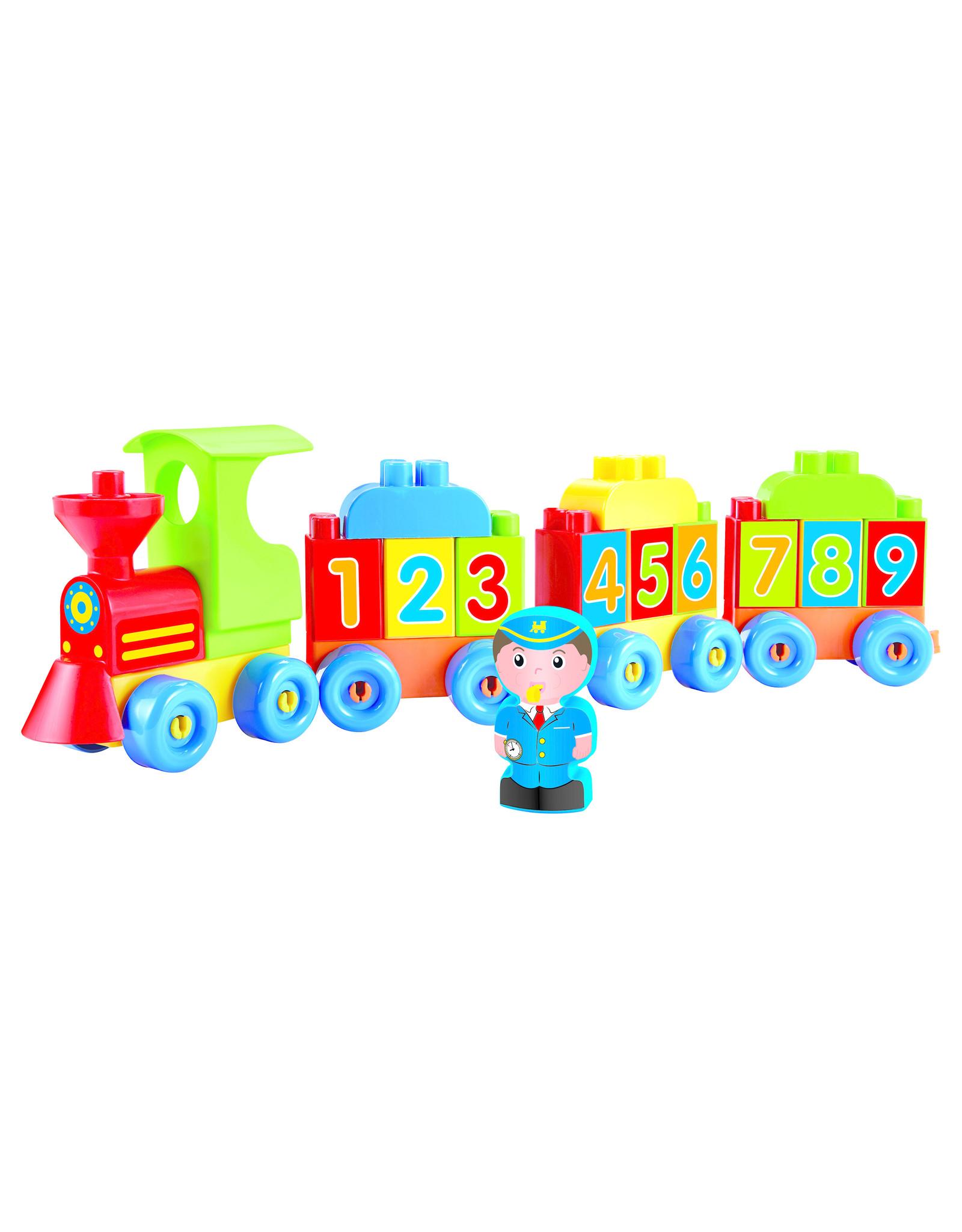 écoiffier Abrick Locomotive Buchstaben und Zahlen