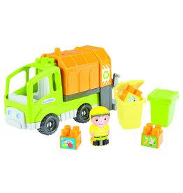 écoiffier Abrick Müllwagen mit Zubehör